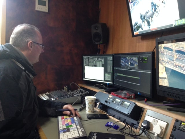 VT editor Andy Richards at work on Richard III
