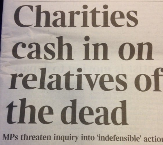 Charity crisis strategy