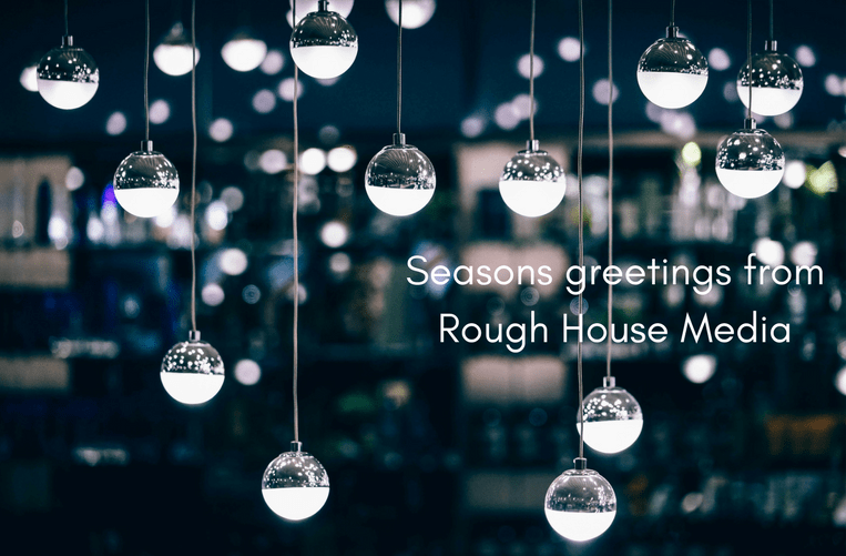 Rough House Christmas card