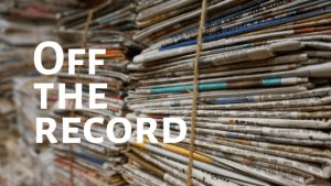 What is off the record