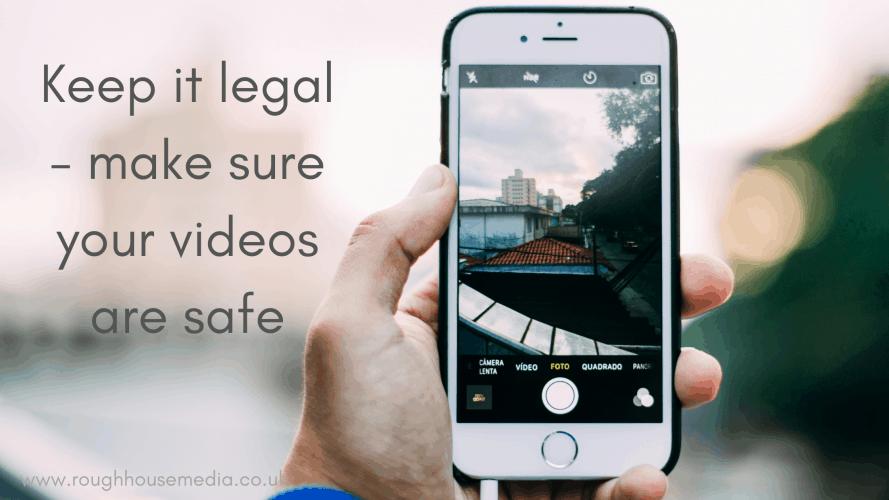 Legal checks for videos