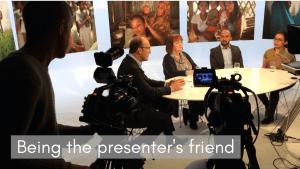 presenter's friend